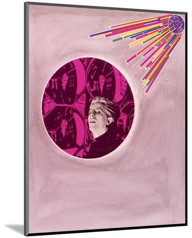 David Bowie--Mounted Art Print