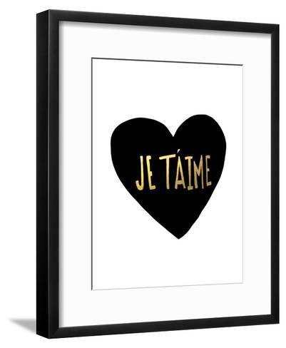 Je T'Aime-Leah Flores-Framed Art Print