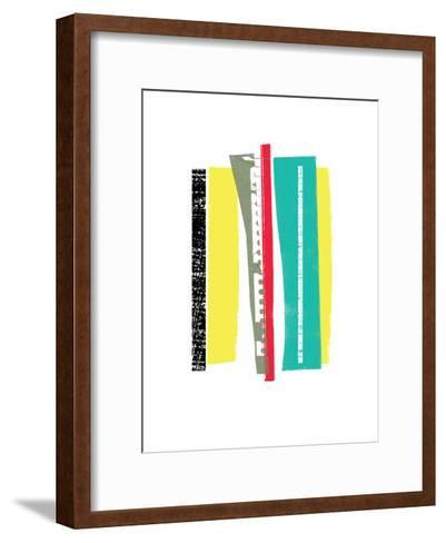 Twigs II-Catherine Aguilar-Framed Art Print