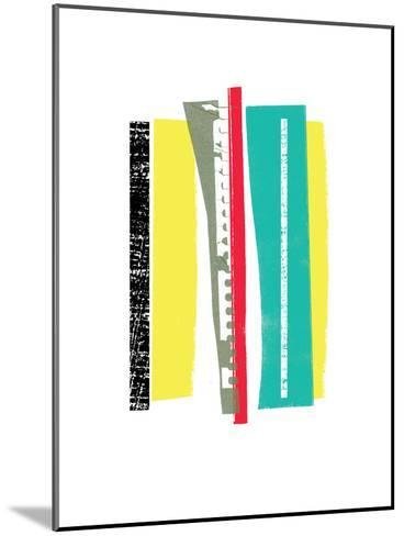 Twigs II-Catherine Aguilar-Mounted Art Print