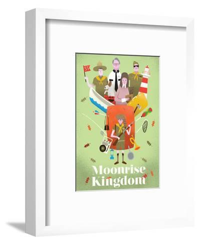 Moonrise Kingdom-Chris Wharton-Framed Art Print