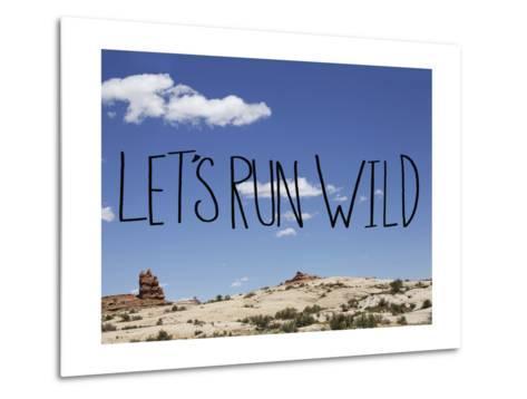 Run Wild-Leah Flores-Metal Print
