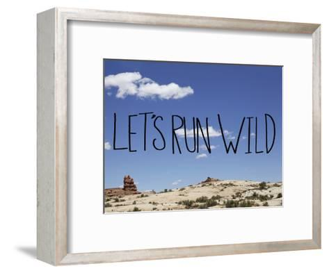 Run Wild-Leah Flores-Framed Art Print