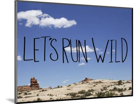 Run Wild-Leah Flores-Mounted Art Print