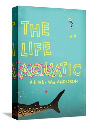 The Life Aquatic-Chris Wharton-Stretched Canvas Print