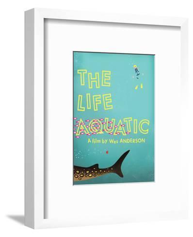 The Life Aquatic-Chris Wharton-Framed Art Print