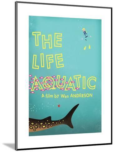 The Life Aquatic-Chris Wharton-Mounted Art Print