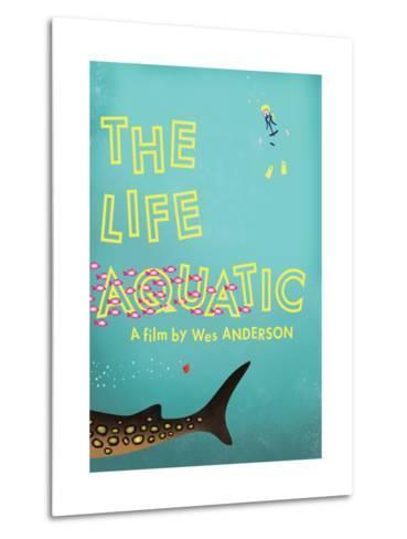 The Life Aquatic-Chris Wharton-Metal Print