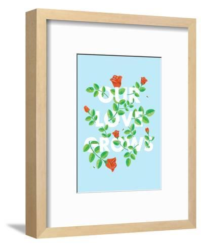 Our Love Grows-Chris Wharton-Framed Art Print