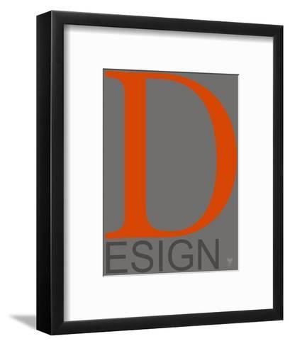 D Esign--Framed Art Print