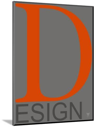 D Esign--Mounted Art Print