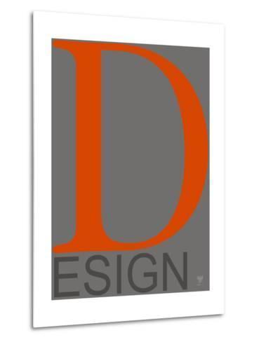 D Esign--Metal Print