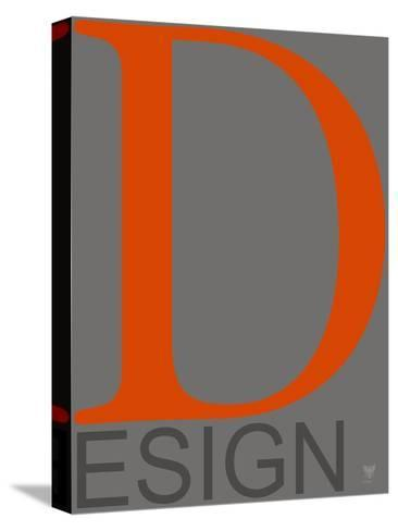 D Esign--Stretched Canvas Print