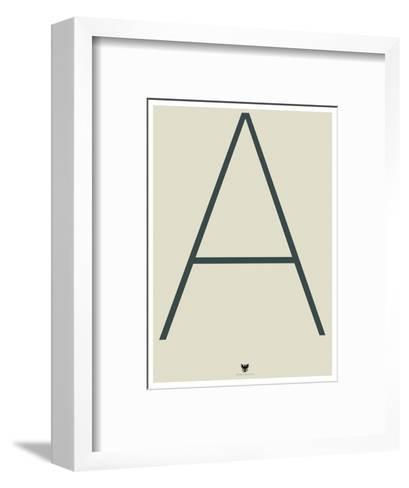 A--Framed Art Print