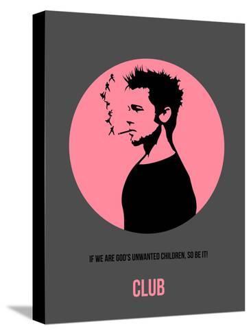 Club Poster 1-Anna Malkin-Stretched Canvas Print