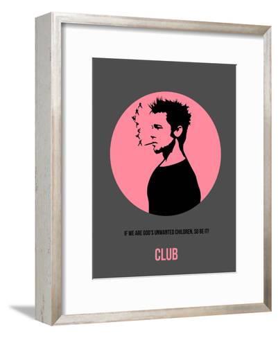 Club Poster 1-Anna Malkin-Framed Art Print