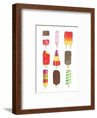 Ice Lollies-Alexandra Rolfe-Framed Art Print