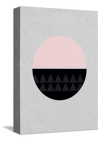 Circular-Seventy Tree-Stretched Canvas Print