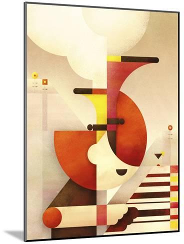 Jazzman-Antony Squizzato-Mounted Art Print