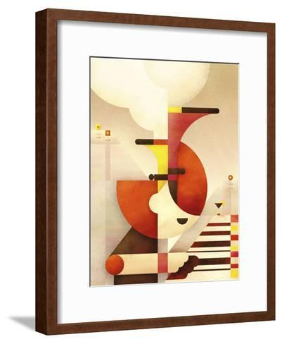 Jazzman-Antony Squizzato-Framed Art Print