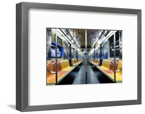 The Night Train-Photography by Steve Kelley aka mudpig-Framed Art Print