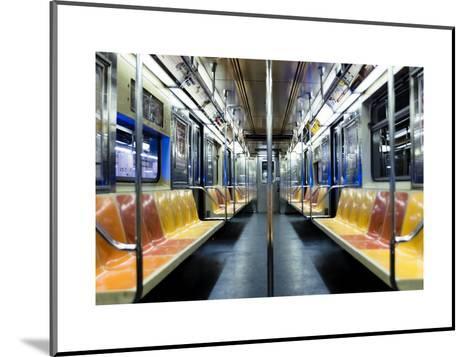 The Night Train-Photography by Steve Kelley aka mudpig-Mounted Art Print