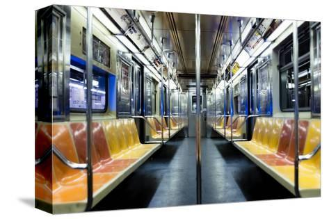 The Night Train-Photography by Steve Kelley aka mudpig-Stretched Canvas Print
