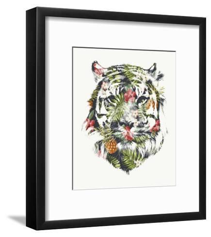 Tropical Tiger-Robert Farkas-Framed Art Print
