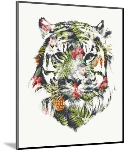 Tropical Tiger-Robert Farkas-Mounted Art Print