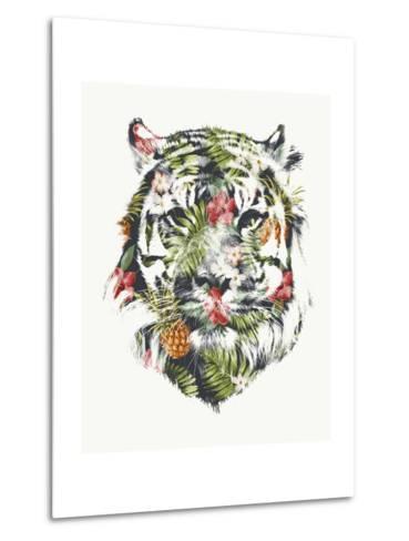 Tropical Tiger-Robert Farkas-Metal Print
