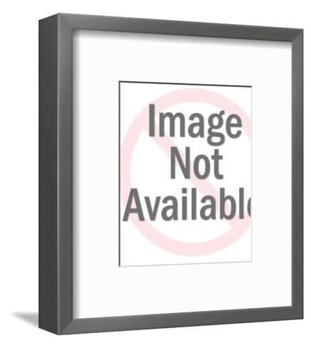 Eagle Symbol-Pop Ink - CSA Images-Framed Art Print