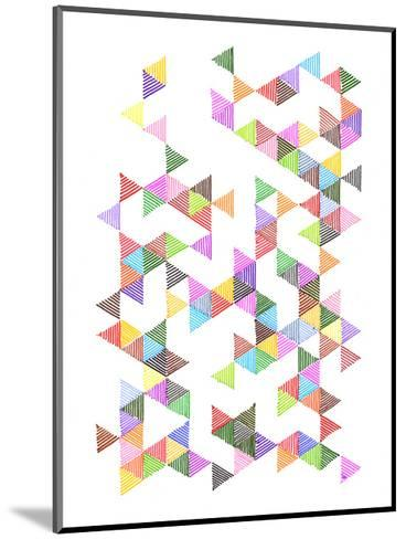 Technicolour Raindrops-Fimbis-Mounted Art Print