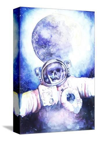 Deceased Astronauts in Space-viktoria-Stretched Canvas Print
