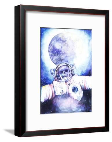 Deceased Astronauts in Space-viktoria-Framed Art Print