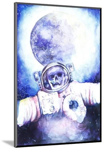 Deceased Astronauts in Space-viktoria-Mounted Art Print