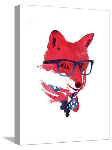 American Fox-Robert Farkas-Stretched Canvas Print