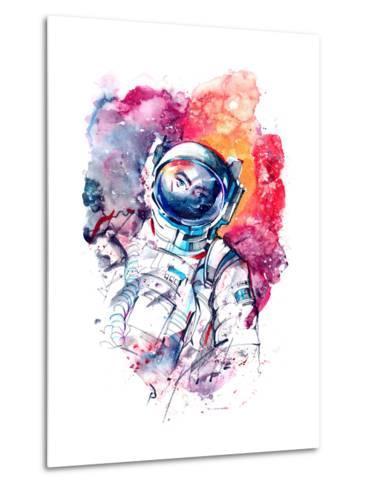 Astronaut-okalinichenko-Metal Print