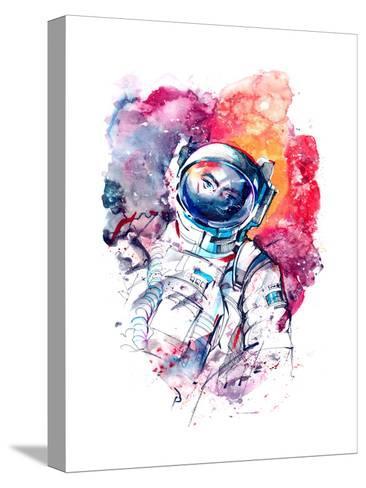 Astronaut-okalinichenko-Stretched Canvas Print