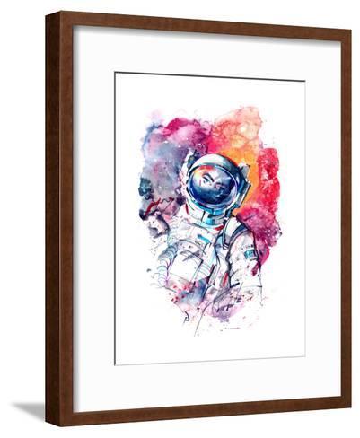 Astronaut-okalinichenko-Framed Art Print
