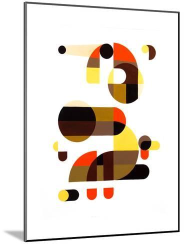 In and Out-Antony Squizzato-Mounted Art Print