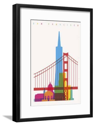 San Francisco-Yoni Alter-Framed Art Print