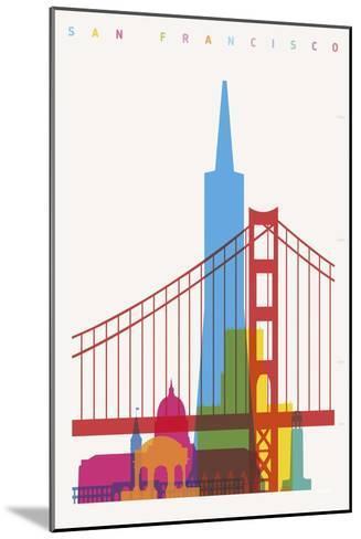San Francisco-Yoni Alter-Mounted Art Print