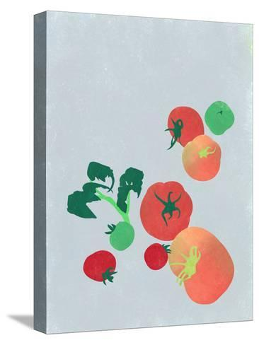 Tomatoes-sooyo-Stretched Canvas Print