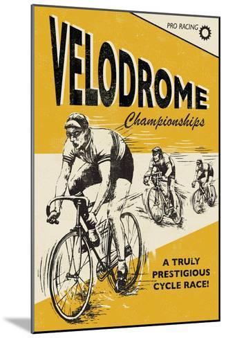 Velodrome-Rocket 68-Mounted Art Print