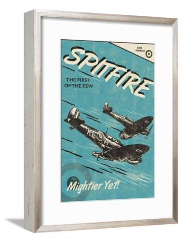 Spitfire-Rocket 68-Framed Art Print