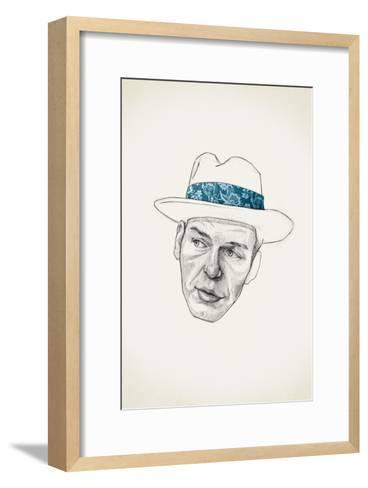 Sinatra-Jason Ratliff-Framed Art Print