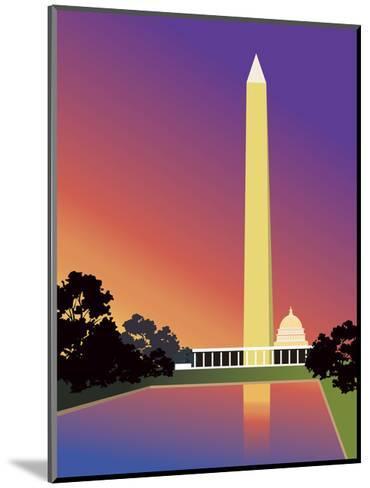 Washington Monument in Washington, DC, USA--Mounted Art Print