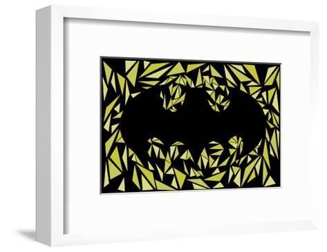 Batman Symbol-Cristian Mielu-Framed Art Print
