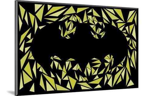 Batman Symbol-Cristian Mielu-Mounted Art Print