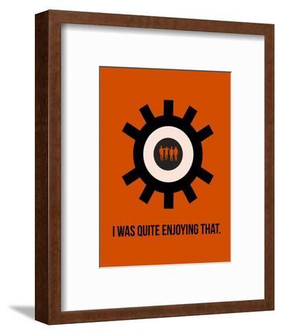 Clockwork Poster-Anna Malkin-Framed Art Print